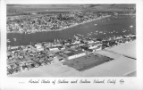 Aerial Photo Photo of Balboa and Balboa Island, California