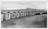 "Cabins at Big Blue Baker Service - ""Dad"" Fairbanks Baker, California"