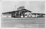 """The Big Blue"" Baker Service Station ""Dad"" Fairbanks Baker, California"