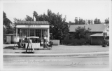 Womans Club House and Gas Station Fallbrook - California