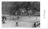Popular Sport Tennis Basketball Courts Harding Military Academy, Glendora, CA