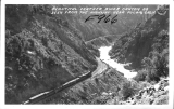 Beautiful Feather River Canyon as Seen from the Highway near Pulga, California
