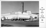 The Greyhound Bus Depot at Fresno California