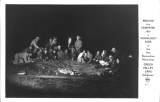 Around the Campfire after a Moonlight Ride in the San Bernardino Mountains Green Valley Lake California
