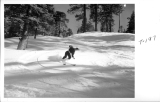 Skiing at Green Valley Lake, San Bernardino Mountains, California