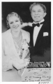 Mary Pickford and Sid Grauman, Owner of Chinese Theater, Hollywood, California