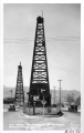 Oil Well in Center of Street, Hollywood, California