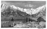CCC County 1340 - Camp Lone Pine F98 in the Shadows of Mt. Whitney, Highest Mt. in U.S. Lone Pine, California