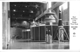 Giant Generators in the Nevada Power House Boulder Dam