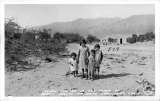 Indian Village in the Floor of the Death Valley National Monument, California