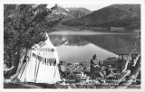 Camping on Shores of Saddlebag Lake Near Camp Tioga P.O. Leevining, California