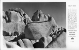 Split Rock Joshua Tree National Mounument California
