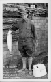 9 1/4 lb Steelhead caught in June Lake August 1, 1928 by E.W. Kingsbery - Boulder Lodge 5 Days - 5 Limits