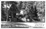 Cabins among the Pines on the Shores of Lake Almanor, Camp Prattville, Almanor, California