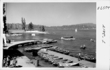 Boat Dock at Lake Arrowhead California