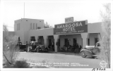 Entrance to Amargosa Hotel, Death Valley Junction, California