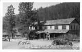Store and Cafe at Keddie, California in The Feather River Canyon