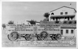 Original 20 Mule Team Borax Wagons, Furnace Creek Inn, Death Valley National Monument, California