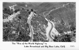 "The ""Rim of the World Highway"" to Lake Arrowhead and Big Bear Lake, California"