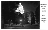 California's Beautiful State Capitol Building as sen as Night, Sacramento California