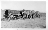 Historic 20 Mule Team Borax Wagons Death Valley