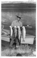Burton Frasher and Trout caught in Topaz Lake