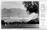 The Famous Nine Hole All Grass Golf Course Death Valley California