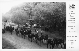 The 20 Mule Team Passing Wildrose Station November 27 1949 Enroute To Death Valley California