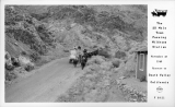 The 20 Mule Team Passing Wildrose Station November 27 1949 Enrute to Death Valley California