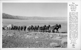 The 20 Mule Team Crossing Panamint Valley Death Valley National Monument California