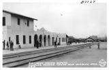 Southern Pacific Depots, Nogales, Sonora, Mexico and Nogales, Arizona USA