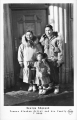 George Ahgupuk famous Alaskan Artist and his Family