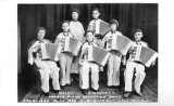 Vilet Kastning's Hohner Piano Accordion Band Organized June 1932 - Albuquerque, New Mexico