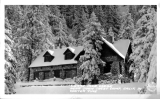 Sierra Club Lodge near Snow Crest Camp, California in Winter Time