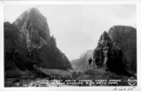 The Great White Throne, Great Organ and Angel's Landing Zion National Park, Utah