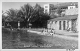 Swimming Pool, Furnace Creek Inn, Death Valley, California