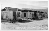 Cabins at Furnace Creek Camp, Death Valley National Monument, California