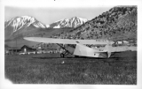 First Airplane at June Lake