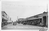 Second St. looking East, Calexico, California
