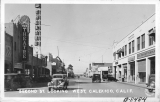 Second Street Looking West, Calexico, California