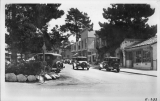 A Section of Ocean Avenue, Carmel, California