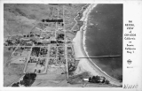 An Aerial view of Cayucos California on Scenic California Hwy 1