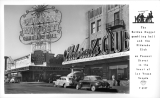 The Golden Nugget Gambling Hall and the Eldorado Club on Fremont Street in the heart of Las Vegas Nevada
