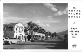 The Royal Palms Hotel at Palm Springs California