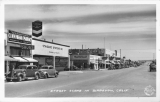 Street Scene in Barstow, California