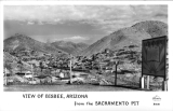 View of Bisbee, Arizona from the Sacramento Pit