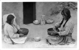 Hopi Pottery Makers, Walapi, Indian Village, Arizona