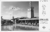The Pool of El Rancho Vegas Hotel, Las Vegas Nevada