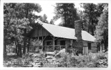 Log Cabins among the Pines Tomblers Lodge Mormon Lake, Arizona