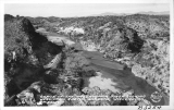 Gorge of the Massayampa River looking West from Cactus Gardens, Wickenburg, Arizona